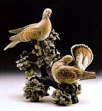 LLADRO RARE+INCREDIBLY CAPTIVATING TURTLE DOVES#01011240(LIMITED EDITION)-SIGNED