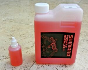 50ml Genuine Shimano Mineral Oil Bottle for Bleeding Hydraulic Disc Brakes MTB