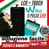 "LCD DISPLAY+TOUCH SCREEN per WIKO U PULSE UPULSE LITE 5,2"" SCHERMO VETRO BRT_24H"