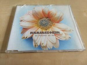 Rammstein – Du Riechst So Gut 1995 Maxi Single CD Rock Electronic Industriel