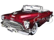 1953 BUICK SKYLARK BURGUNDY 1:18 DIECAST MODEL CAR BY MOTORMAX 73129