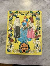 Vintage 1969 World of Barbie Three Doll Trunk Carrying Case Storage