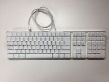 Apple A1048 Aluminium USB Wired Keyboard WORKING