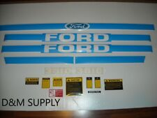 Ford 3610 tractor decal set with caution kit HF3610B