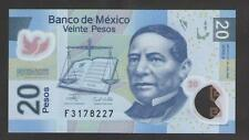 MEXICO  20  PESOS 2006  Serie A   P. 122 b  Uncirculated