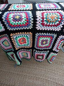 Vintage granny blanket