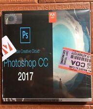 per mac Apple Adobe PHOTOSHOP CC 2017 nuovo sigillato ITALIANO auto attivante