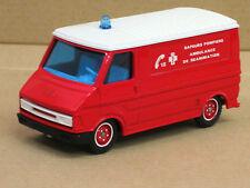 "Citroen C 35 Kasten, rot ""Sapeurs Pompiers"", o.OVP, Solido, 1:50, Feuerwehr"
