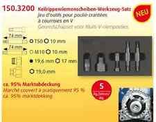 KS Tools cinghie trapezoidali costole vetri, strumento Set, 5 Pezzi Audi, BMW, Fiat 150.3200