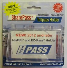 Sharepass Mini Tollpass Transponder Holder for I Pass and EZ Pass