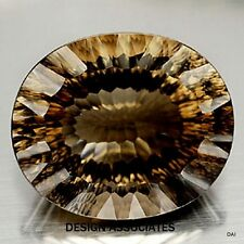 18X13 MM OVAL CONCAVE CUT SMOKY QUARTZ AAA ALL NATURAL