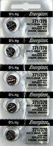 371 / 370 Energizer Watch Batteries SR920W 5 Batteries