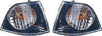 BMW E36 4 Door Black Design Front Indicators - Supplied in Pairs 4dr