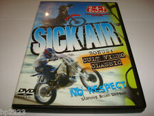 SICK AIR & NO RESECT CULT CLASSIC EXTREME DVD-Brian Deegan MOTOCROSS & MORE, NEW