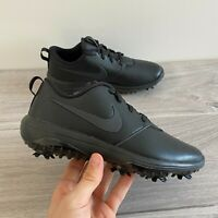 NIKE WOMENS ROSHE G TOUR GOLF SHOES - UK 4.5 & 5 - BLACK (AR5582-007)