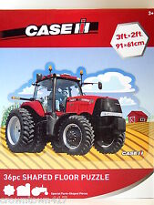 Case IH Tractor Floor Puzzle Special 36pc Farm Shaped Pieces