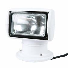 12V 100W 3200K 2500 Lumens Boat Remote Control Spotlight Truck Car Searchlight