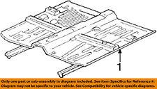 HONDA OEM 93-95 Civic-Floor Pan Assembly 65100SR8A02ZZ