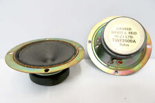 DAVRED Tweeters TWF2600A - PAIR -Vintage Speaker Part -David J. Reid New Zealand