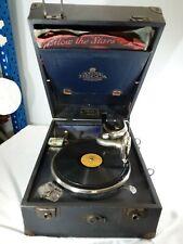 More details for decca vintage portable gramophone