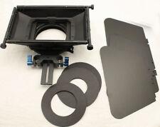 4 x 4 DSLR Matte Box Sunshade For 15mm Tilta MOVCAM BMPCC BMCC A7S FS7 5D2 Cage