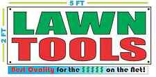 LAWN TOOLS Banner Sign NEW Larger Size Best Quality for The $$$$ Pawn Shop