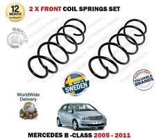 FOR MERCEDES B150 B160 B170 B180 B200 CDI 2005-2011 2x FRONT COIL SPRINGS SET
