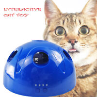 NEW Interactive Motion Cat Toy Mouse Tease Electronic Pet Toys 3 Speed