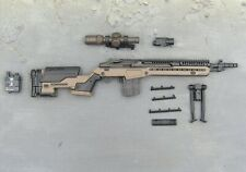 1/6 Scale Toy PMC Urban Sniper - M-14 Assault Rifle Set