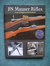 FN MAUSER RIFLES - Vanderlinden **BRAND NEW BOOKS - SIGNED**