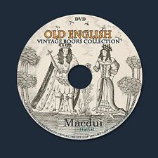 Old English Ballads,Songs,Sports,Houses,Cottages,Towns 70 PDF E-Books 1 DVD