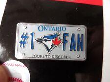 Official TORONTO BLUE JAYS No.1 FAN Baseball LOGO PIN BADGE New MLB Pack Canada
