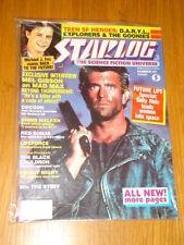August Starlog Sci-Fi Magazines