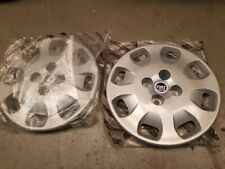 Fiat Punto 14 inch  Wheel caps 2x 46760306