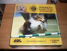 American Kennel Club DVD Board Game 2-4 Players Ages 8+ Family Fun NEW