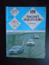 L'expert automobile n°117 01/1976 Simca 1307 GLS - 1307 S - 1308 GT