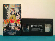 Ace ventura when nature call's VHS tape & sleeve FRENCH