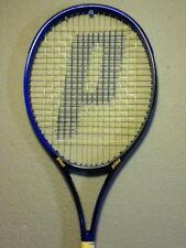 "Prince PRECISION LASER LITE 107 OVERSIZE 620pl Tennis Racket STRUNG 4-3/8"" MINT"