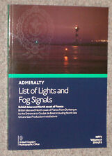 BRITISH ADMIRALTY LIST OF LIGHTS & FOG SIGNALS NP80 - Volume G - NEW