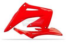 HONDA Ecopes radiateur Couvre CRF 450 R 2002 - 2004 OEM rouge Moto X