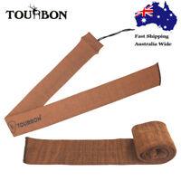 Tourbon Shotgun Rifle Sleeve Hunting Sock Bag Case Silicone Treated Orange in AU