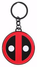 Marvel Comics Deadpool Logo Metal Keychain New with Tags