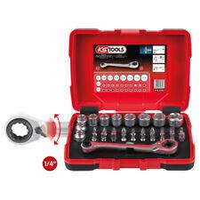 """KS Tools 918.3050 1/4"""" + 11 mm passare attraverso la presa e Bit Set, 31 PZ"""