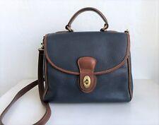 COACH Sheridan Monticello 4226 Navy Tan Leather Crossbody Bag