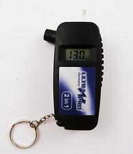 2in1 LCD Reifendruck Prüfer Profilmesser Luftdruckprüfer Luftdruckmesser Messer