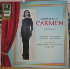 MARIA CALLAS/GEORGES BIZET CARMEN GERMAN PRESS LP COLUMBIA