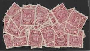 D2555: (60) Bolivia #176 Mint, OG; CV $450