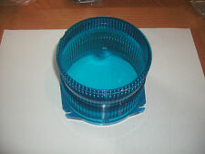 NEW whelen blue dome lens part D-80453