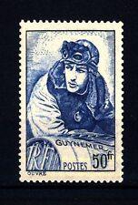FRANCIA - 1940 - Effigie del Cap. Georges Guynemer, asso dell'Aviazione -