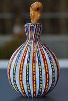 Seltenes Schnupftabakglas - Bixl - Schnupftabakflasche !!! Mundgeblasen !! Nr.34